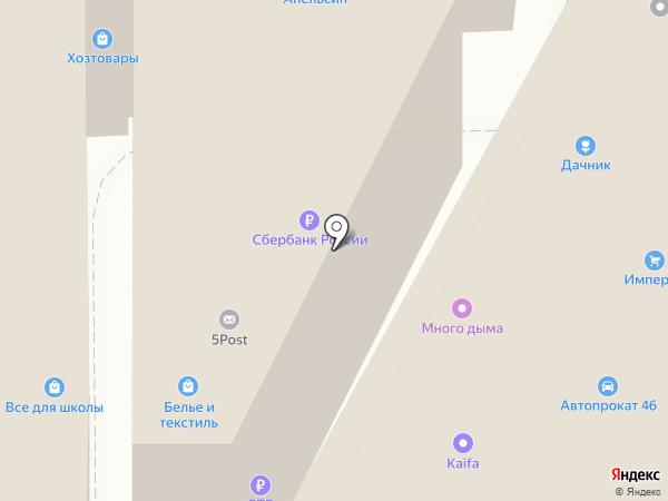 Салон реставрации подушек на карте Курска