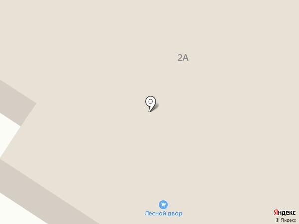 Лесной двор на карте Орла