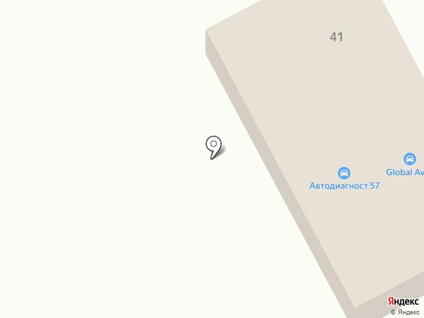 На Южном на карте Орла