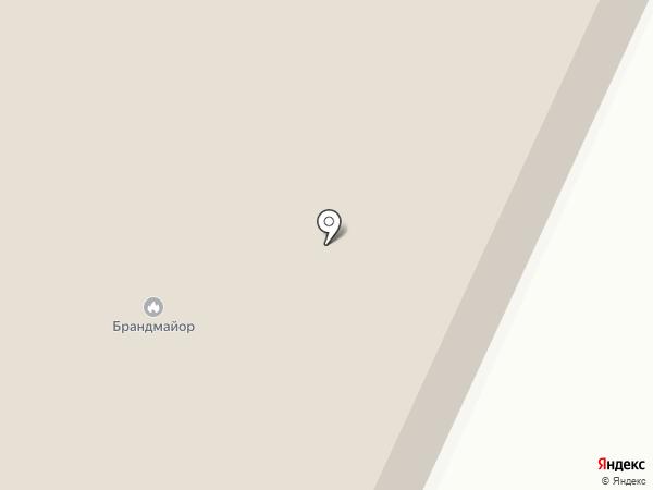 Брандмайор на карте Курска