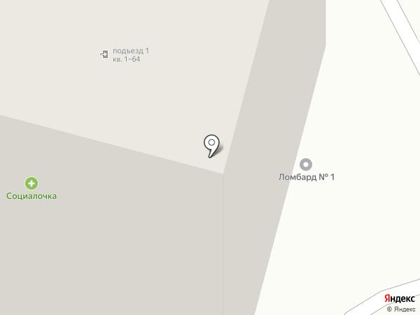 Фартуна на карте Курска