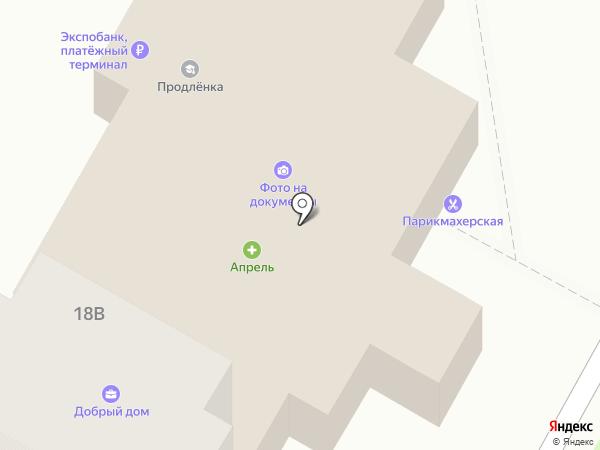Частный интерьер на карте Курска