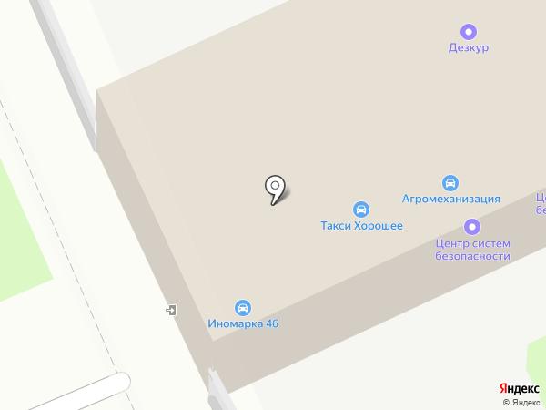 Иномарка46 на карте Курска