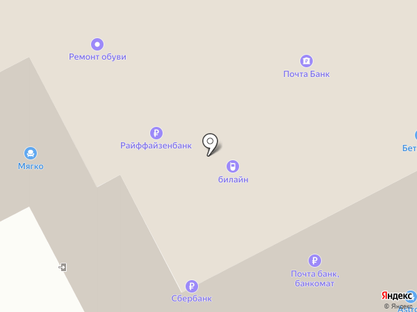 КАСКАД на карте Курска