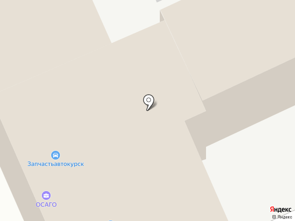 Автомомент на карте Курска