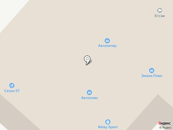 Мотор на карте Орла