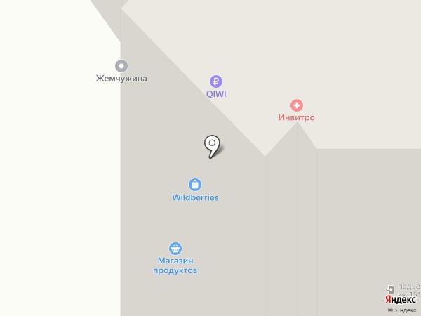 Компас на карте Курска
