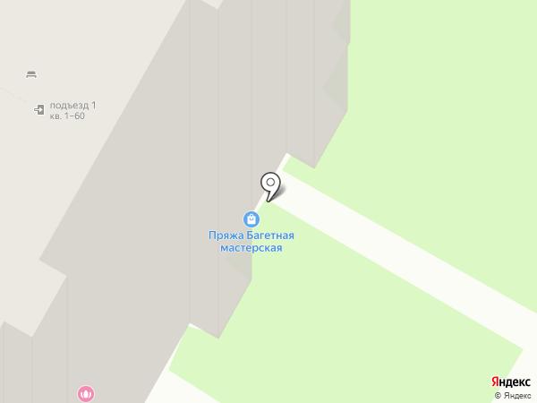 Магазин пряжи на карте Курска