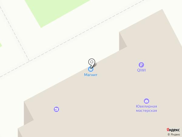 Сеть ювелирных мастерских на карте Курска