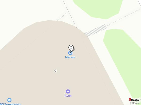 Магазин печатной продукции на карте Курска