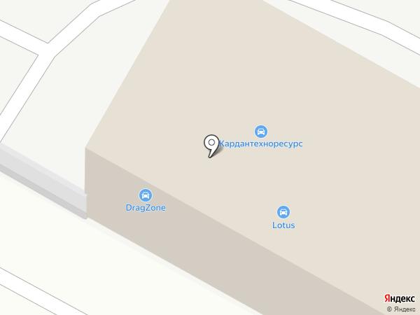 Drag Zone на карте Курска