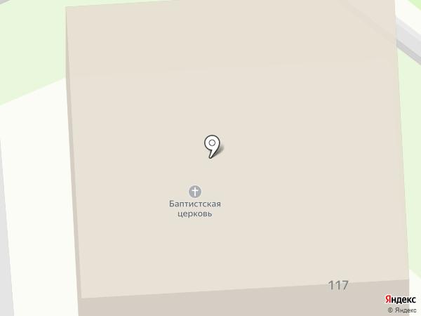 Церковь Преображения на карте Орла