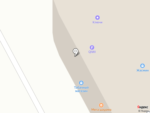 Keykursk на карте Курска