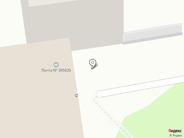Почтовое отделение №25 на карте Курска
