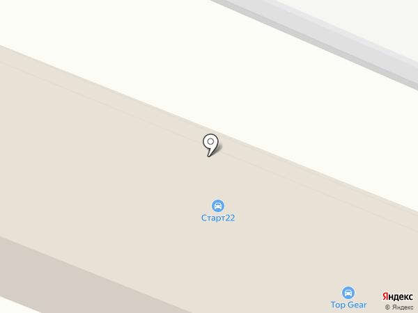 Top Gear на карте Курска