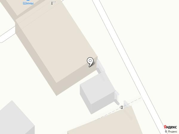 Шинный дом на карте Курска