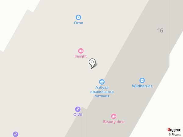 Здравница на карте Курска