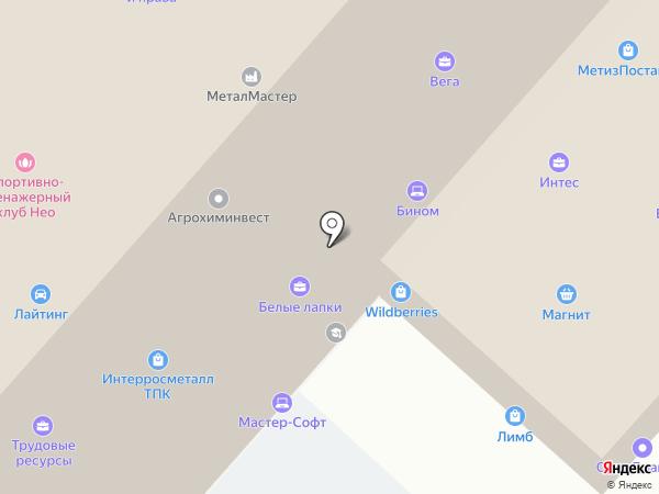 Группа торгового оборудования на карте Орла