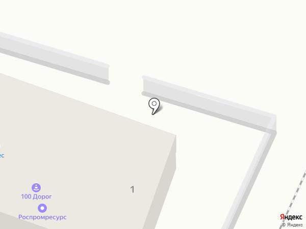 Экскаватор на карте Курска