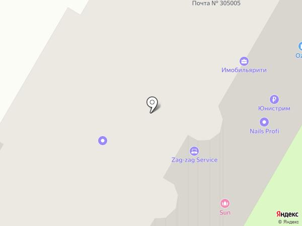 Там, где правильно на карте Курска
