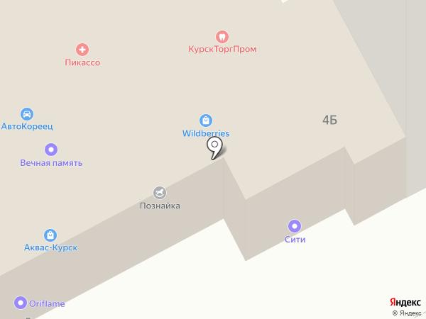 Аквас-Курск на карте Курска