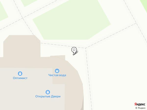 Клен на карте Курска