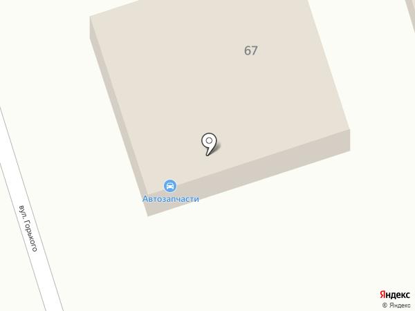 Шиномонтажная мастерская на карте Высокого