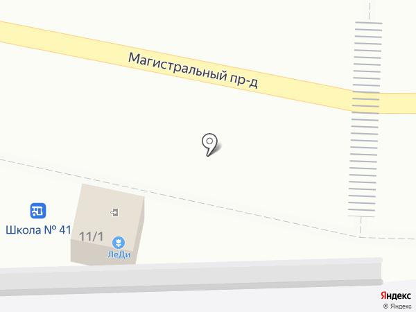 Магазин кондитерских изделий на карте Курска