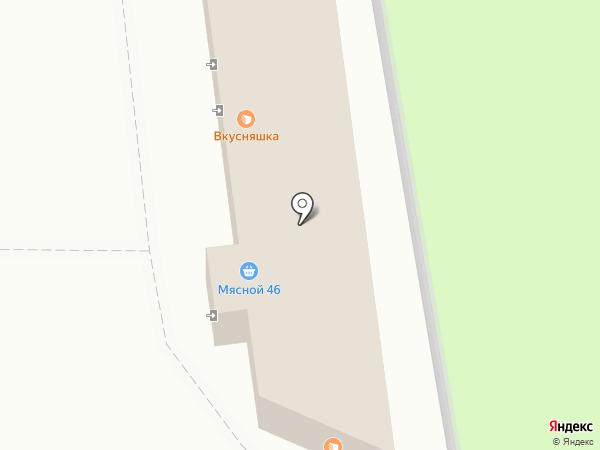 Дошкольник на карте Курска