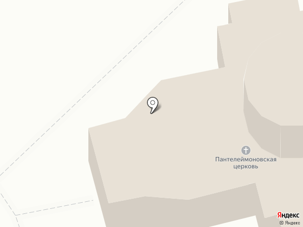 Храм Великомученика и Целителя Пантелеимона на карте Курска