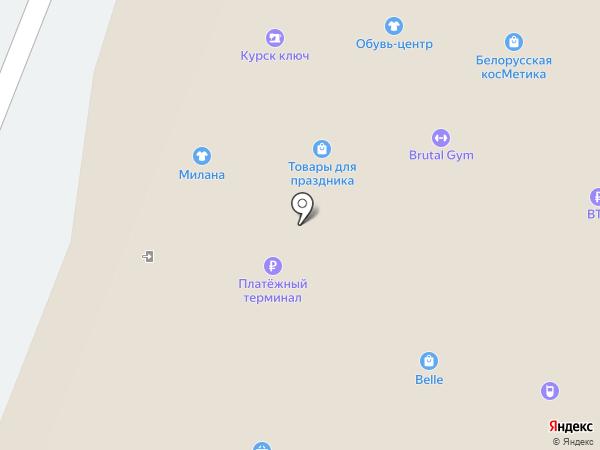 Мария на карте Курска