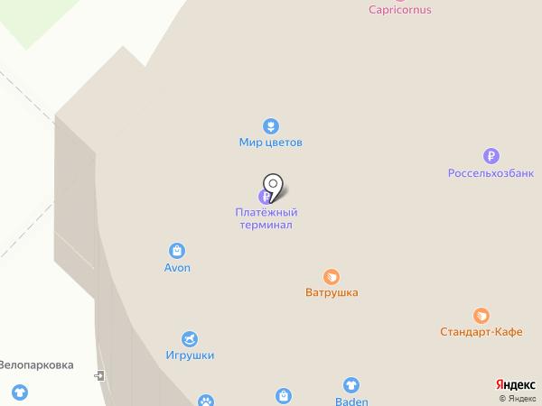 Церковная лавка на карте Курска