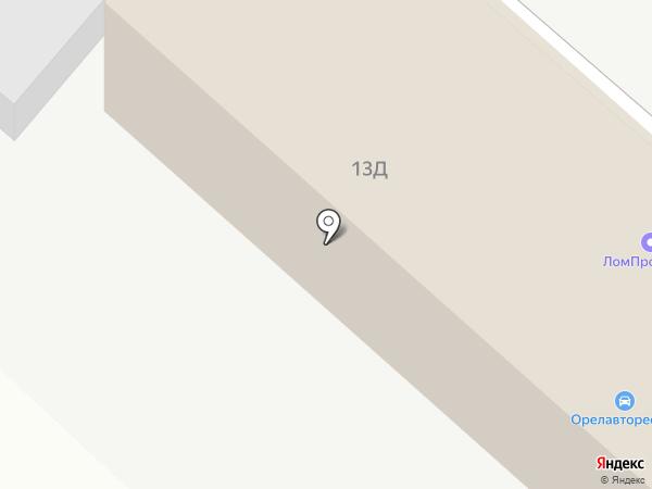 Cars Oil на карте Орла