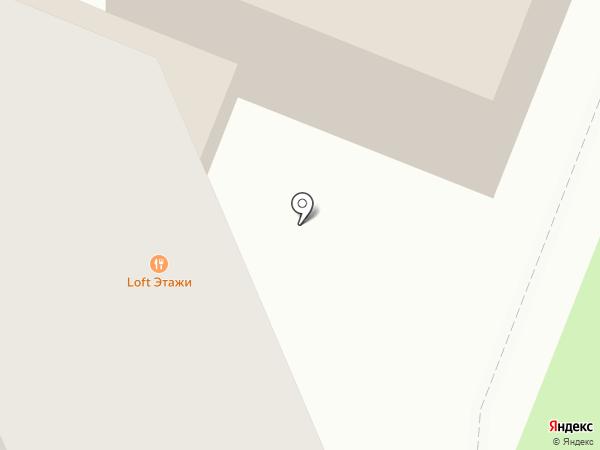 Цирюльня на карте Курска