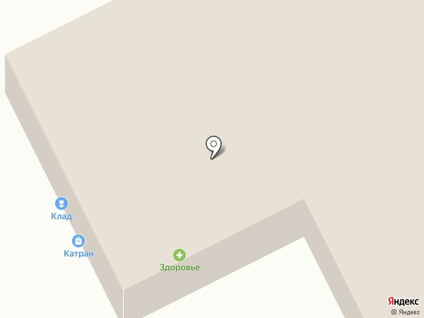 Катран на карте Курска