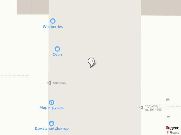 Радуга на карте Курска