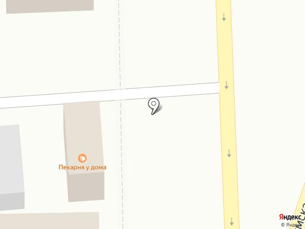 Киоск по продаже фруктов и овощей на карте Курска