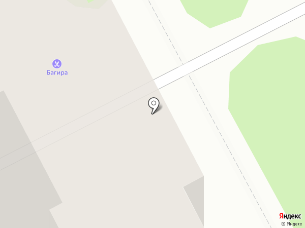 Багира на карте Курска