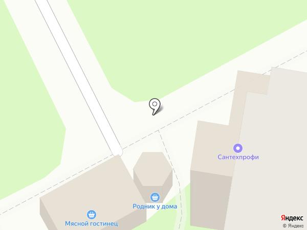 Родник у дома на карте Курска