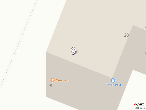 Столовая на карте Курска