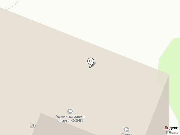 Администрация Сеймского округа г. Курска на карте Курска