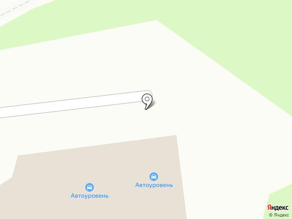 Наш автосервис на карте Курска