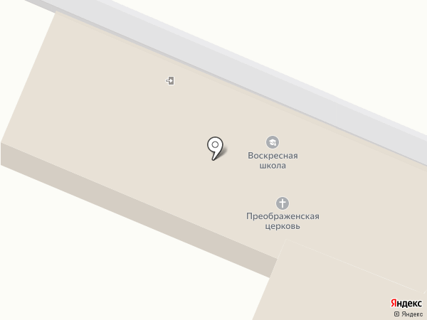Храм Преображения Господня на карте Курска