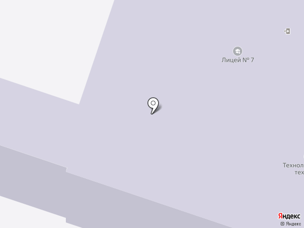 Орловский технологический техникум на карте Орла