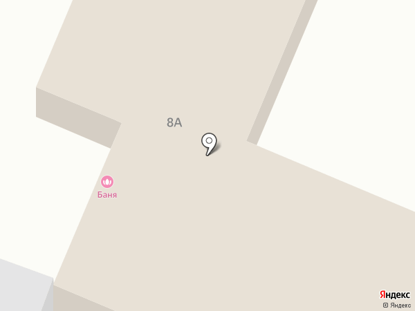 Салон-парикмахерская на карте Курска