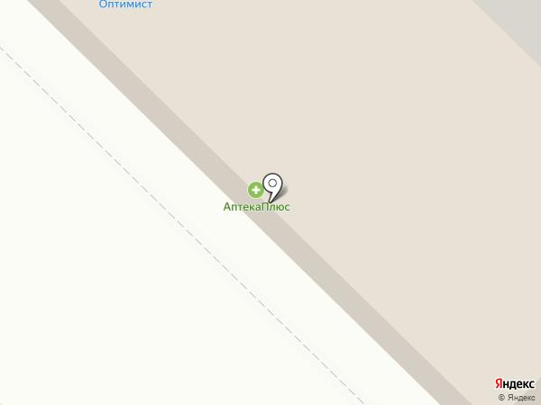Зеленый город на карте Орла