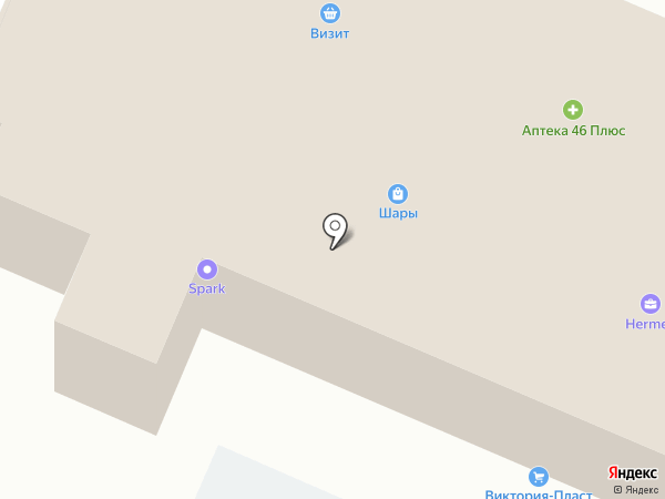 1XBet на карте Курска