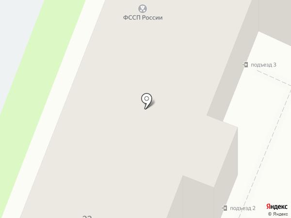Отдел судебных приставов по Сеймскому округу на карте Курска