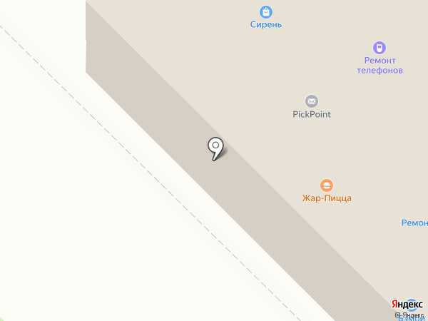 Магазин одежды на карте Орла