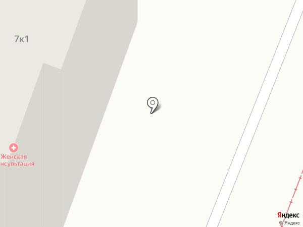 Курская городская женская консультация №7 на карте Курска